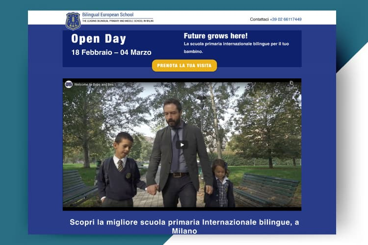 Sito Web Open Day
